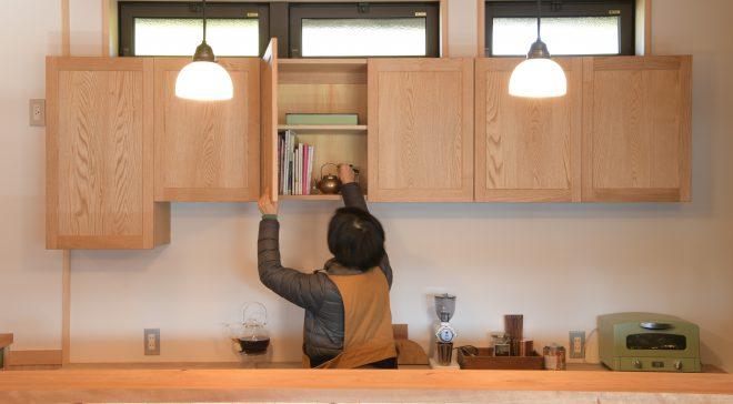 キッチンから広がる生活空間